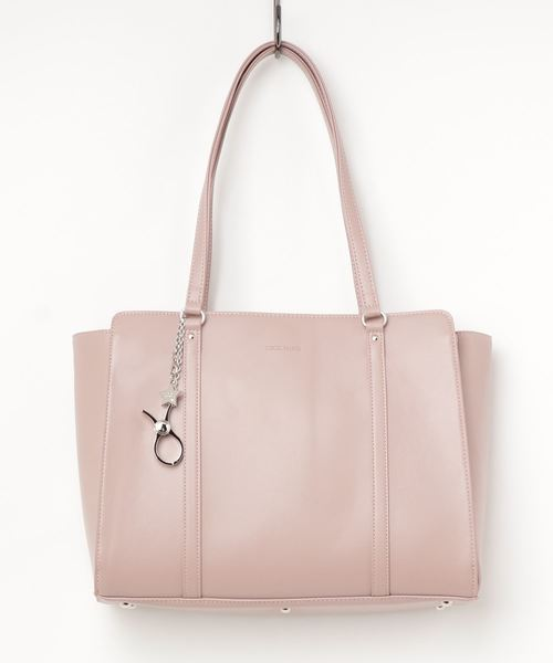 CECIL McBEE(セシルマクビー)の「【CECIL McBEE/セシルマクビー】トートバッグ A4対応モデル(トートバッグ)」|ピンク