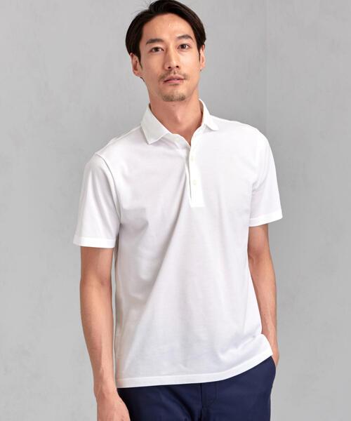 GIM アメリカン シーアイランドコットン ポロシャツ