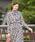 NARACAMICIE(ナラカミーチェ)の「《セットアップ対応》クラシックキカ柄ボウタイ長袖ブラウス(シャツ/ブラウス)」|オフホワイト