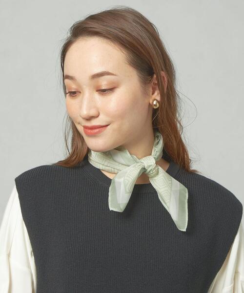 <closet story> キカプリント シフォン スカーフ
