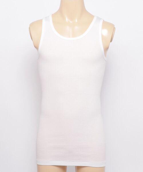 【 HealthKnit / ヘルスニット 】 リブタンクトップ  インナーTシャツ USコットン SHP 53001