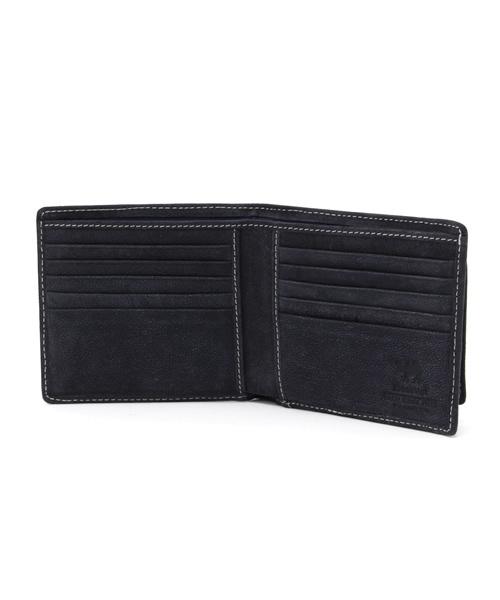 駱駝革二つ折り財布