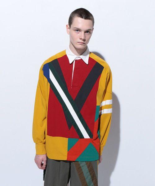 新しい到着 【セール】COLOURFUL MIX RUGBY SHIRT(Tシャツ/カットソー)|FACETASM(ファセッタズム)のファッション通販, KOMEHYO ONLINESTORE:c3f564f3 --- dpu.kalbarprov.go.id