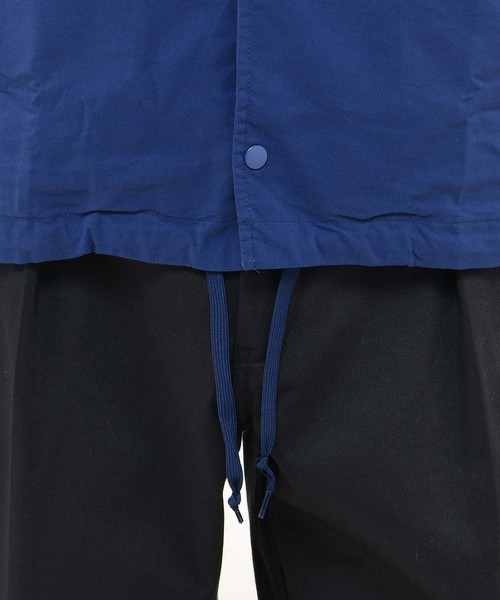 【Dickies/ディッキーズ】 綿ナイロンOXプリントルーズフィットLS羽織シャツ/コーチジャケット