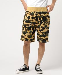 1ST CAMO SWEAT SHORTS M(パンツ)