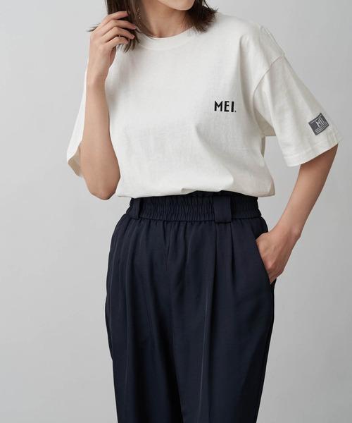 MEI/メイ Chaco closet別注 オーバーサイズ半袖Tシャツ