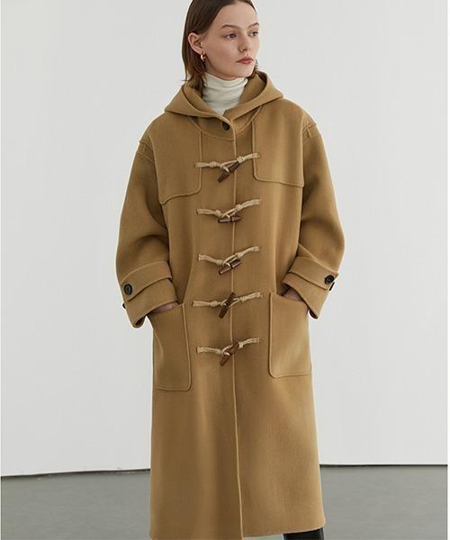 【Fano Studios】【2021AW】River tailored hooded duffle coat FD20D005