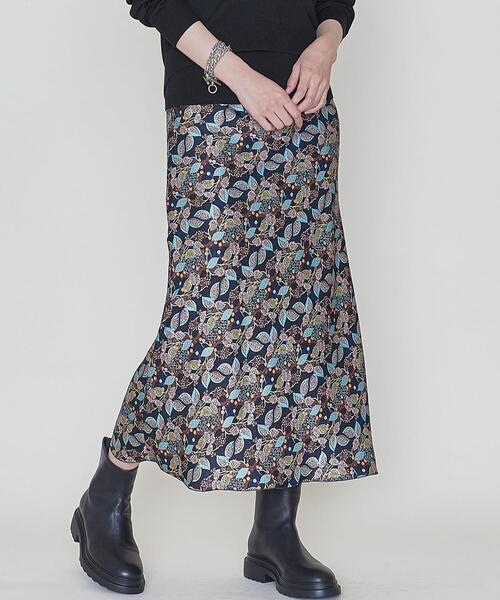 <ASTRAET(アストラット)>サラサプリント マーメイドスカート