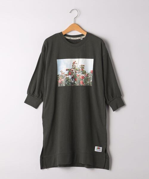 【別注】TJ EX <FRUIT OF THE LOOM×anna magazine×green label relaxing>120cm-130cm