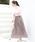 coen(コーエン)の「【新色追加・WEB限定カラー⇒グリーン】クリンクルプリーツロングスカート(スカート)」|詳細画像