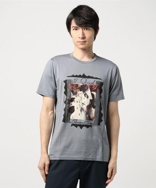 【30%OFF】 NIAGARA/I DIED A THOUSAND TIMES pt Tシャツ, 水巻町 e9fecbec
