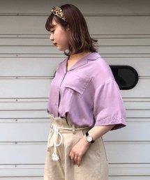PAGEBOY(ページボーイ)の【WEB限定】レーヨンカイキンシャツ(シャツ/ブラウス)