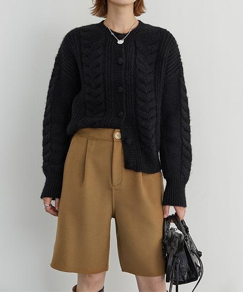 【Fano Studios】One tack wool short pants FD20K016