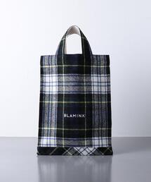 < BLAMINK(ブラミンク)> P WO CHK TOTE BAG