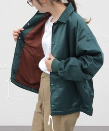 THE SHINZONE / シンゾーン COACH JACKET コーチジャケットグリーン