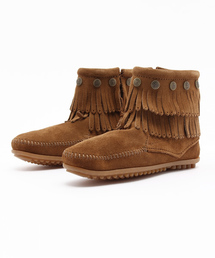 Minnetonka(ミネトンカ)の【MINNETONKA】 ミネトンカブーツ DOUBLE FRINGE SIDE ZIP BOOT/ダブルフリンジサイドジップブーツ(ブーツ)