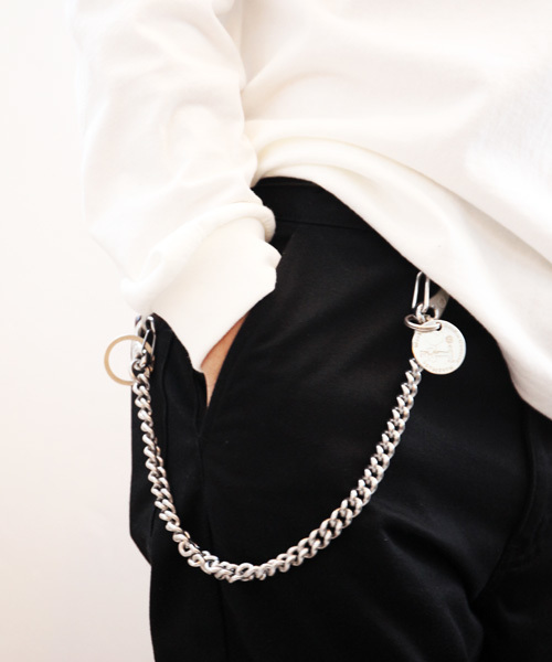 ainless wallet chain / Wichard 50cm ウォレットチェーン