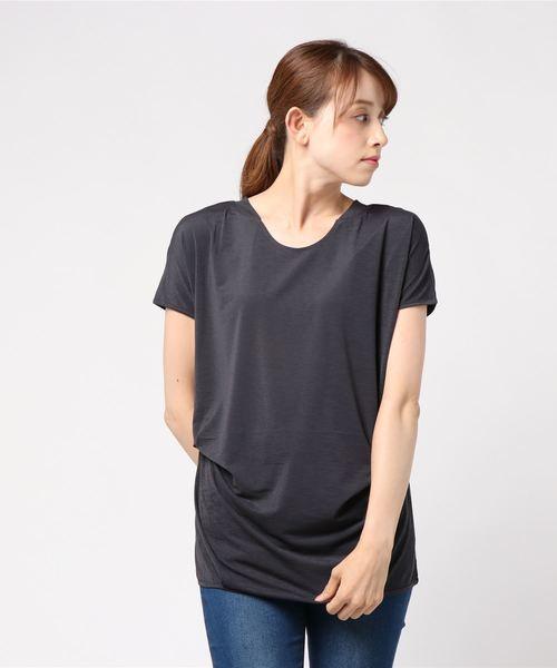 ドレープヘム Tシャツ
