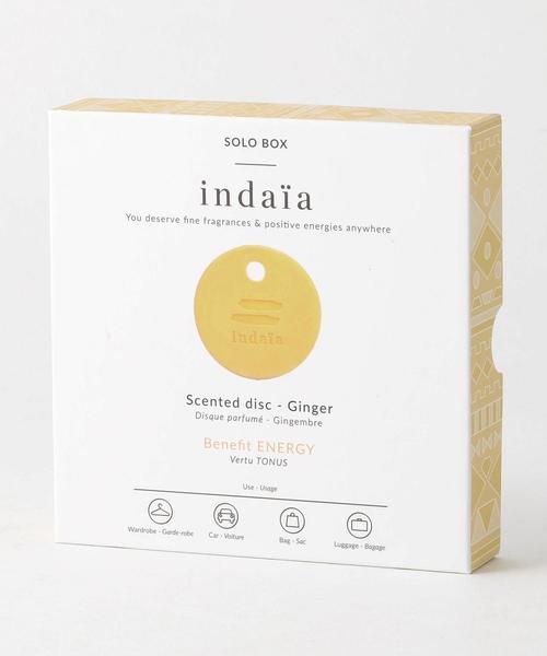 <Indaia> SOLO BOX  Ginger/ルームフレグランス