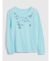 d69cd0f85847c GIRLS APPAREL(ガールズアパレル)の「グラフィック長袖Tシャツ(Tシャツ