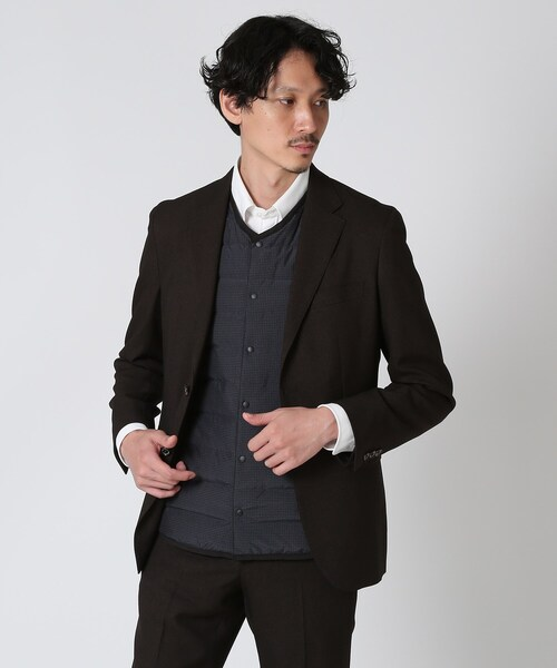 TAKEO KIKUCHI(タケオキクチ)の「チューブファブリックインナーダウン(ダウンジャケット/コート)」|詳細画像