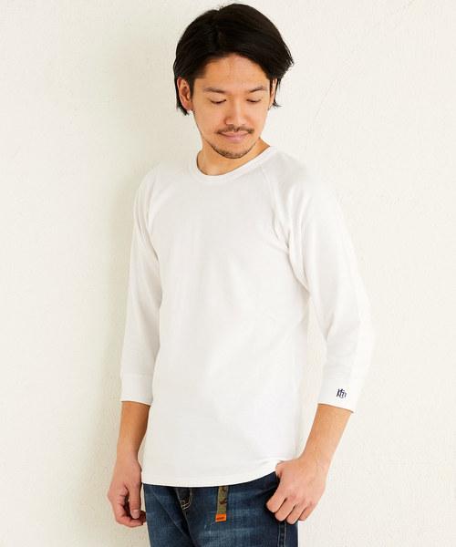 ヘビーリップル7分袖TEE