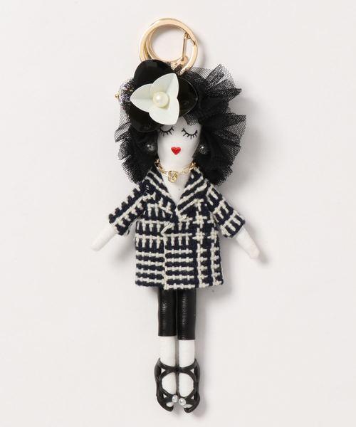 VitaFelice(ヴィータフェリーチェ)の「バッグチャーム ドール バッグチャーム 人形 キーホルダー バッグのアクセサリー プレゼント(チャーム)」|その他1