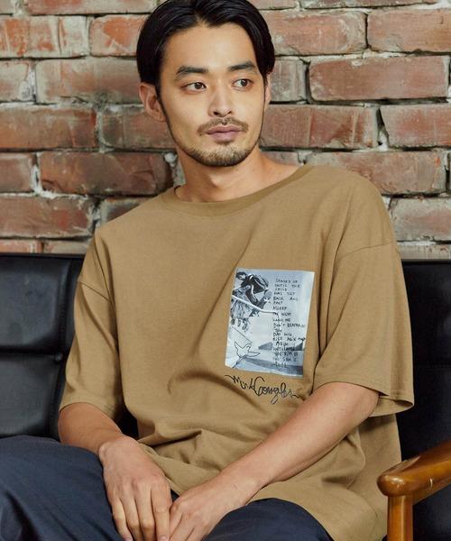 ■Mark Gonzales/マークゴンザレス MONO-MART別注  ビッグシルエット 半袖Tシャツ