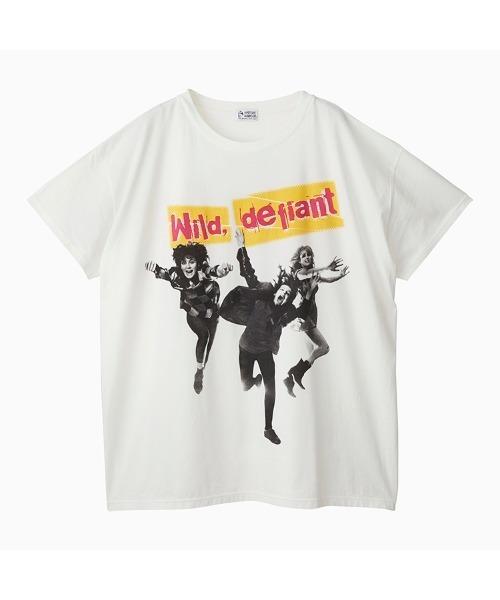 DENNIS MORRIS/WILD DEFIANT オーバーサイズTシャツ