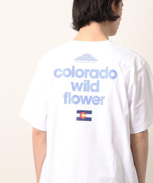 【 MOUNTAIN SMITH / マウンテンスミス 】20SS WILD FLOWER プリント半袖Tシャツ
