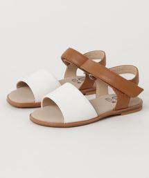 8a70492da7129 キッズのサンダル(ホワイト/白色系)ファッション通販 - ZOZOTOWN