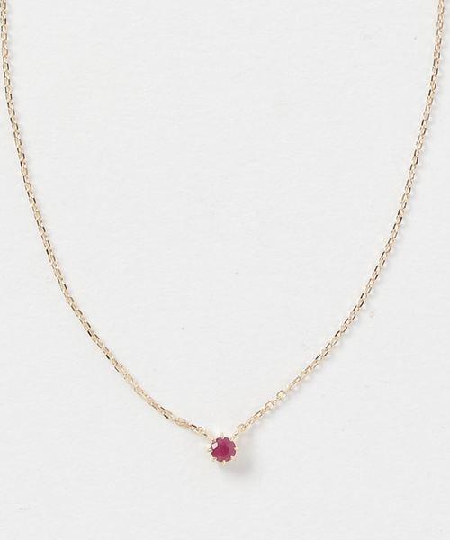 1e185cd694 K18YGフルール 誕生石ネックレス(5・7・9月)(ネックレス)|ete bijoux(エテビジュー)のファッション通販 - ZOZOTOWN