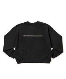 <PRE_> HUNTING CROPOPED CN SWEAT/スウェット