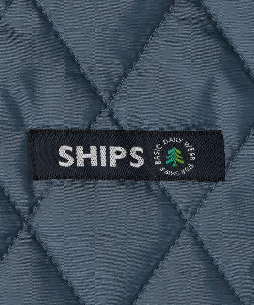 SHIPS KIDS:キルト フード ジャケット(140~150cm)