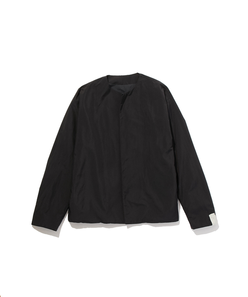 FALL2019 COLLARLESS BLOUSON