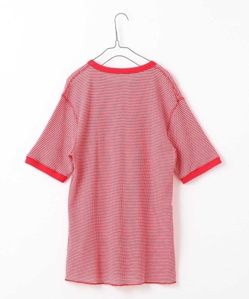 WEB限定 Healthknit/ヘルスニット BASICワッフルクルーネック半袖Tシャツ