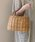 Flea Store Vegetal(フリーストアベジタル)の「【ZOZOTOWN限定】アラログトート(かごバッグ)」|タン