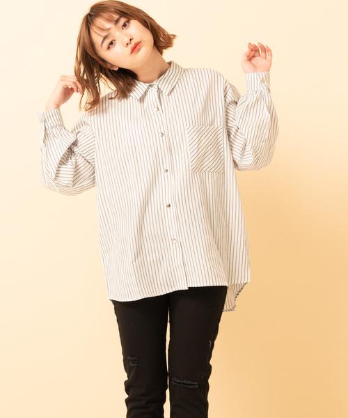 アソート柄ビッグシャツ