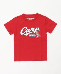KIDSカープコラボT2/CARPロゴ/カープ坊やレッド