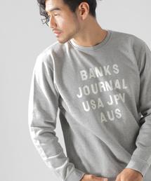 BANKS(バンクス)の【BANKS(バンクス)】HMPR クルーネックプルオーバー(スウェット)