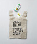 TODAY'S SPECIAL(トゥデイズスペシャル)の「JUTE MINI MARCHE BAG/ジュート ミニ マルシェバッグ(エコバッグ)」