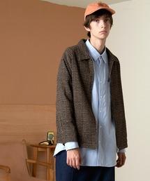 EMMA CLOTHES(エマ クローズ)のコットンツイル/デニム/ウール ドリズラージャケット(ブルゾン)