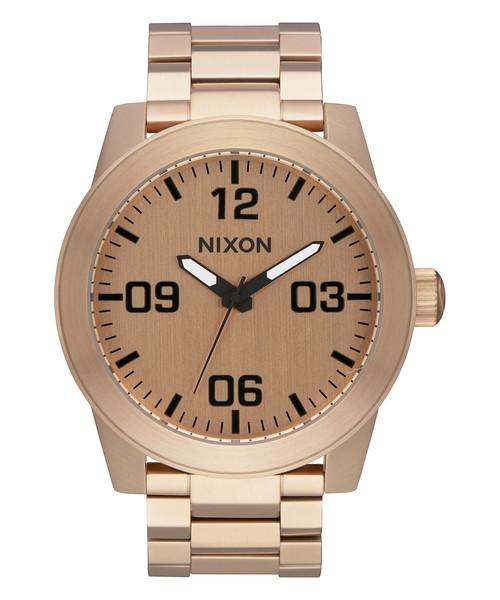 驚きの値段で THE SS CORPORAL SS CORPORAL NA346897-00 NA346897-00 ALL ROSE GOLD(腕時計)|NIXON(ニクソン)のファッション通販, エムアンドエム:ce608a91 --- pyme.pe