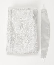 Francfranc(フランフラン)の【レース&ドレープ/既製】H1350xW1000 ドレッシーxスペイシア 二重縫製カーテン ホワイト(インテリアアクセサリー)