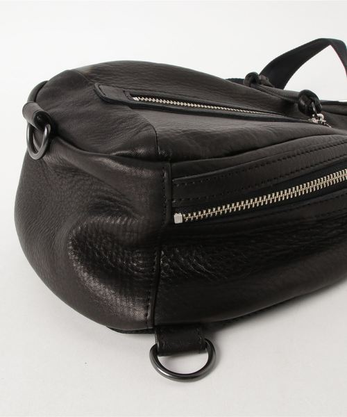 オイルドカウレザー・ボディワンショルダーバッグ DECADE(No-01026L) Oiled Cow Leather Body One Shoulder Bag