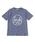 b・ROOM(ビールーム)の「【WEB限定】アソート柄半袖Tシャツ�A(Tシャツ/カットソー)」 グレイッシュブルー