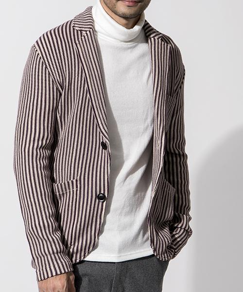 大人気 【セール】ストライプ ニット ジャケット(ニット/セーター)|J.FERRY(ジェイフェリー)のファッション通販, Prossimo:d480e7f5 --- skoda-tmn.ru