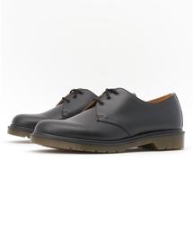Dr.Martens(ドクターマーチン)のDr.Martens ドクターマーチン 1461 DMS 84 GIBSON SHOE 10078001 15SP BLACK SMOOTH(ブーツ)
