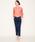 MARIEBELLE JEAN(マリベルジーン)の「MARIEBELLE JEAN   スリムトラウザー デニムパンツ アルガンオイル配合   BELLINI(ベリーニ)/33173006(デニムパンツ)」|詳細画像