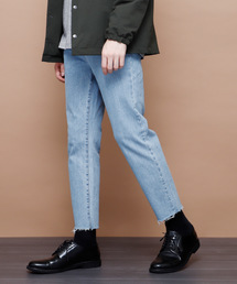 EMMA CLOTHES(エマクローズ)のヴィンテージストレッチテーパードリラックスデニム(デニムパンツ)